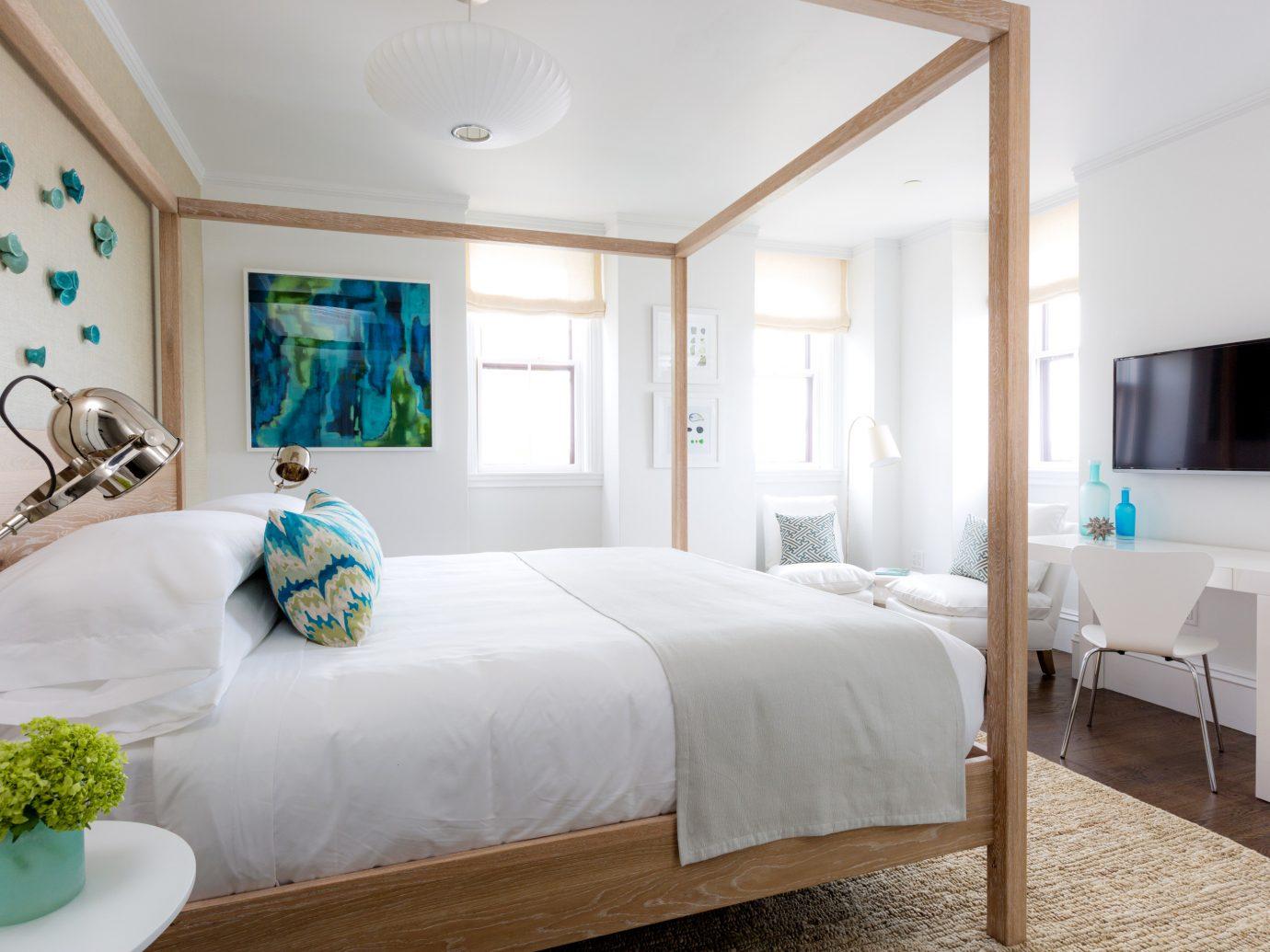 Bedroom at 21 Broad Hotel
