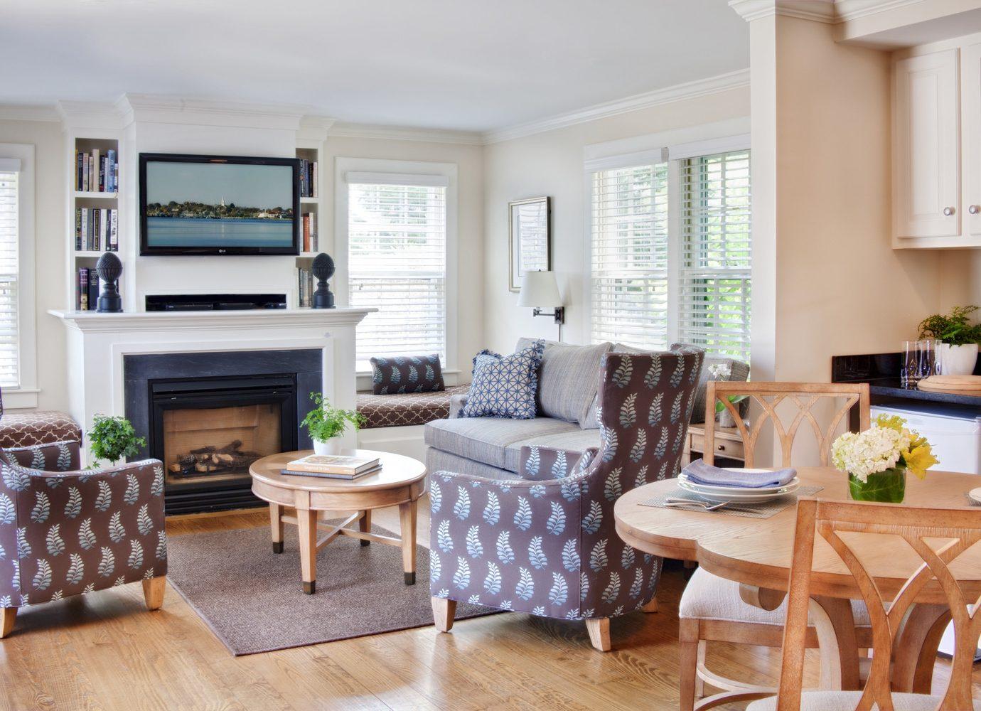 Living room at White Elephant Hotel