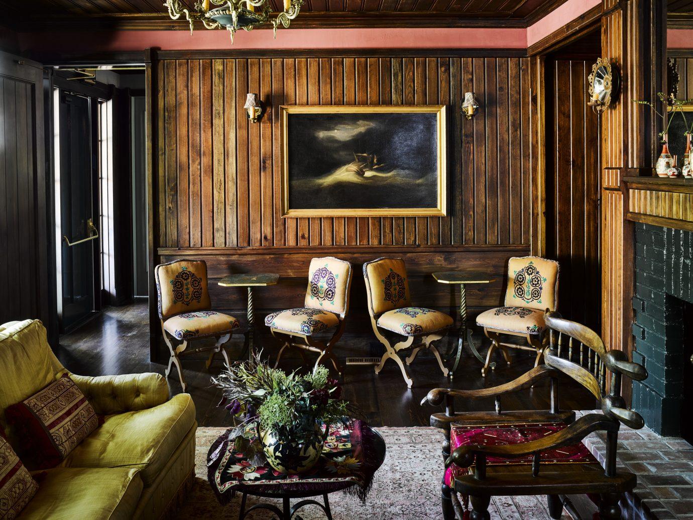 Living room at Greydon House