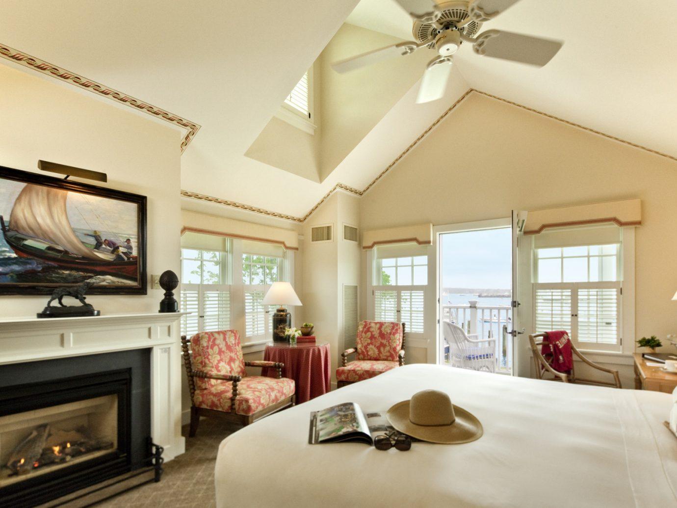 Bedroom at White Elephant Hotel