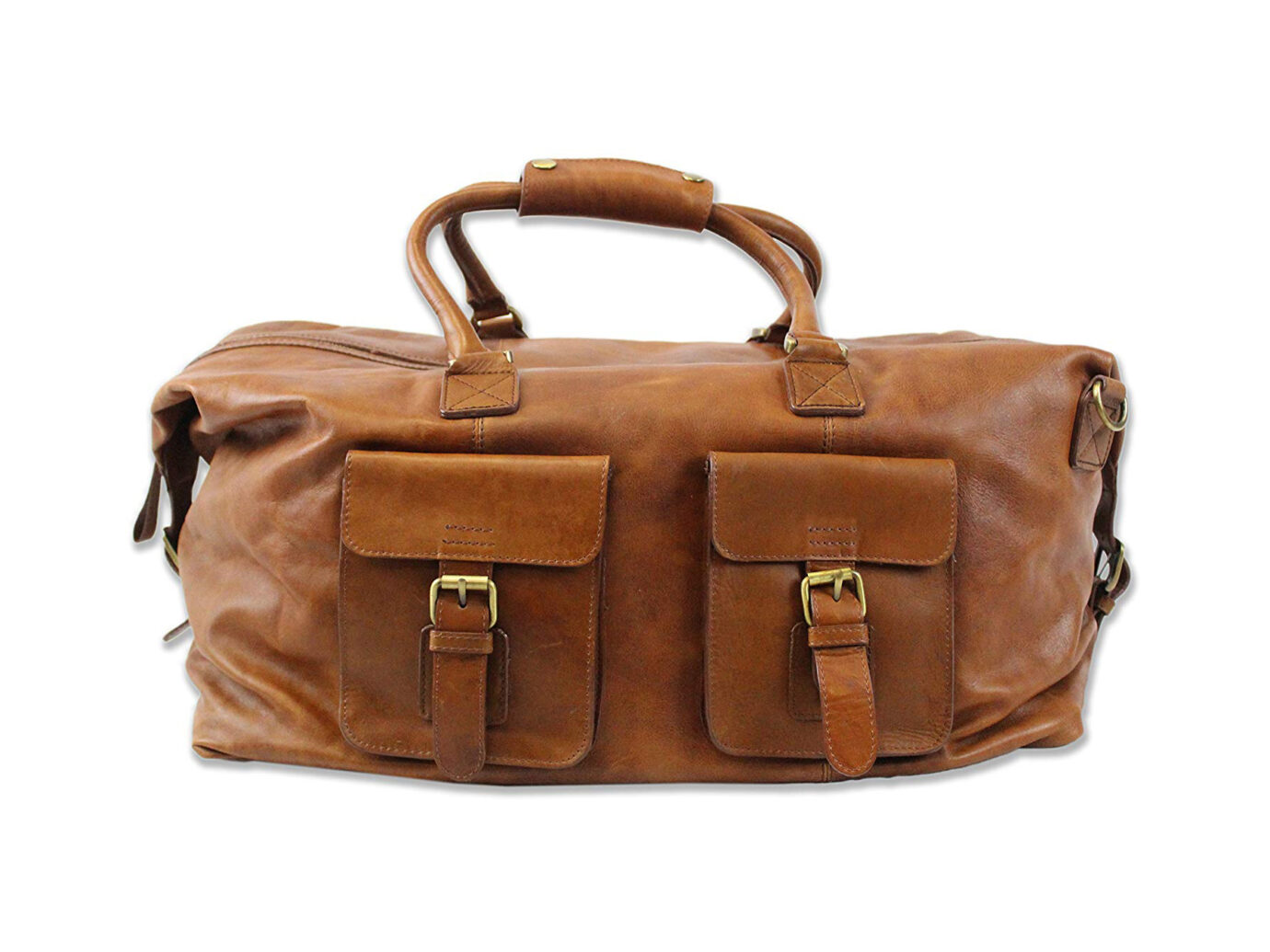 """Rawlings Heritage Collection 19"""" Leather Duffel"""
