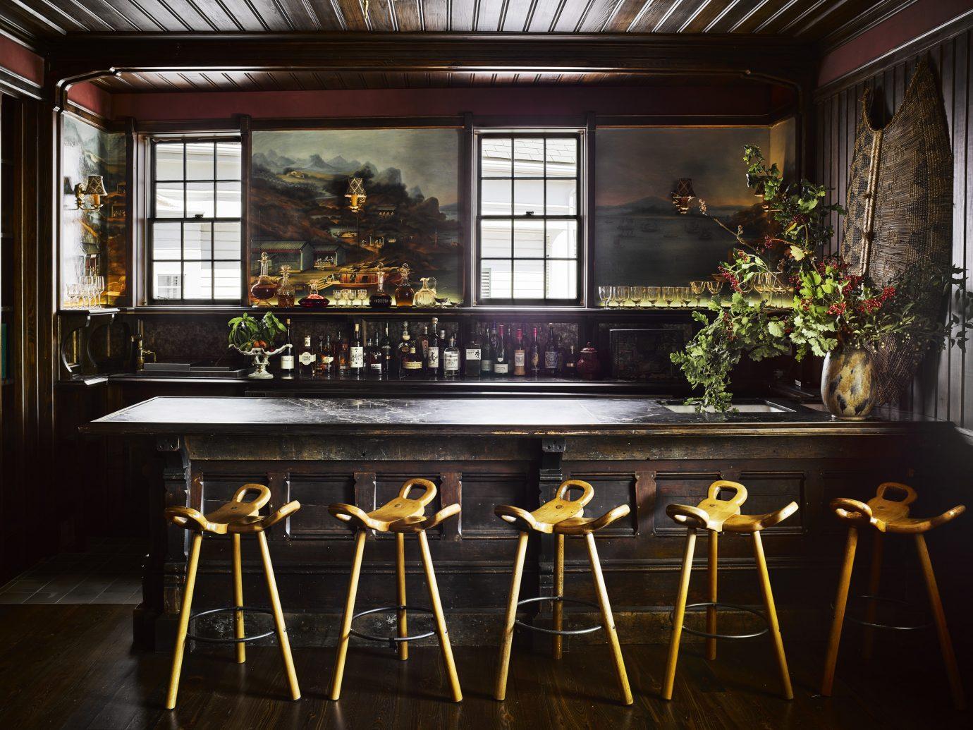 Bar at the Greydon House