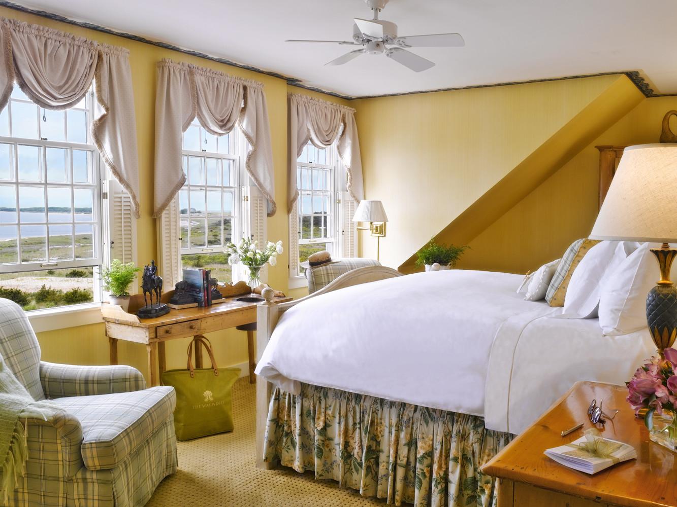 Bedroom at The Wauwinet