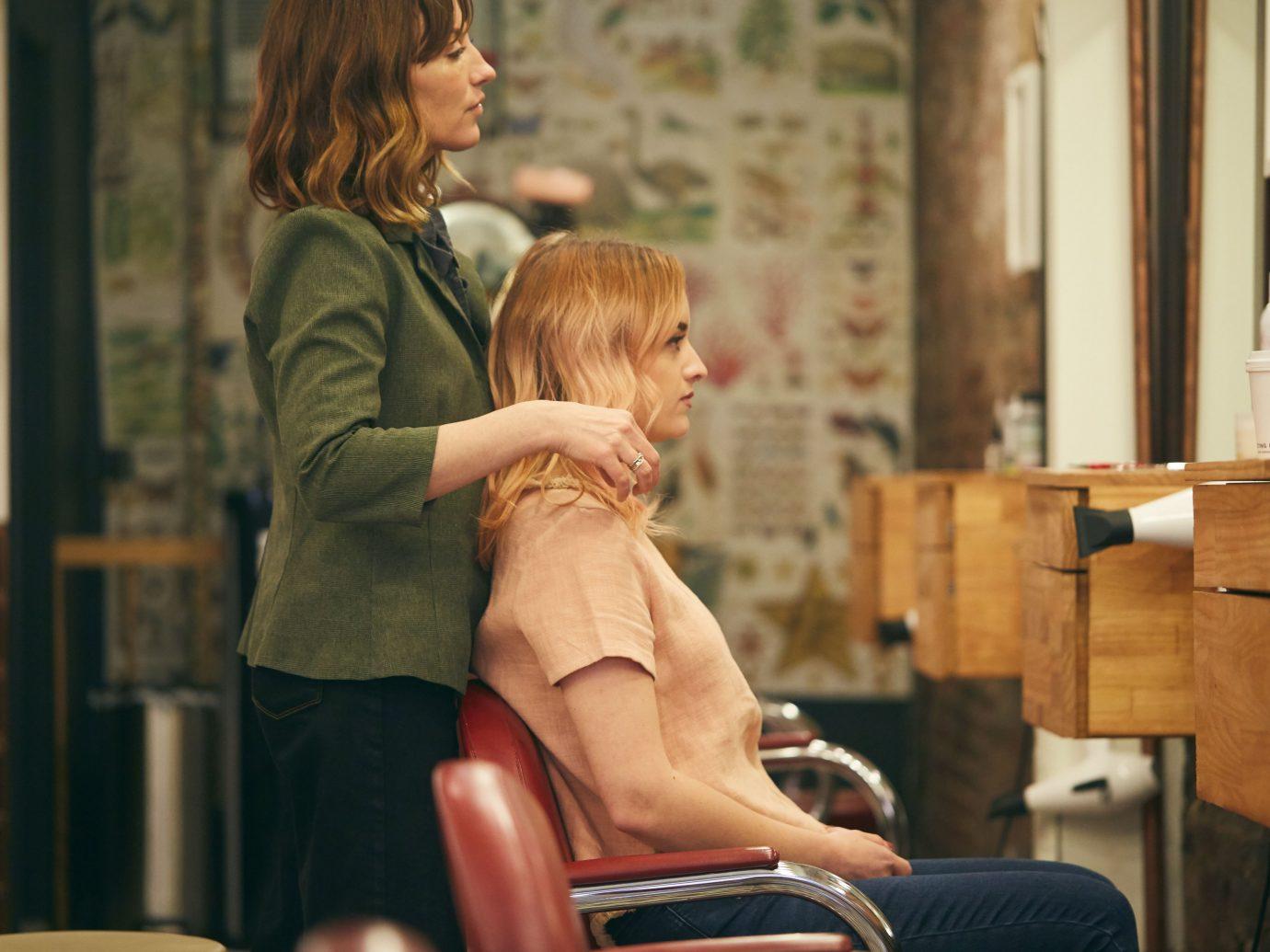 Haircut at Fringe salon NYC