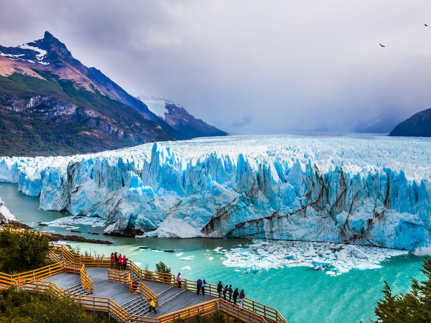 Grandiose glacier Perito Moreno in the Argentine part of Patagonia.