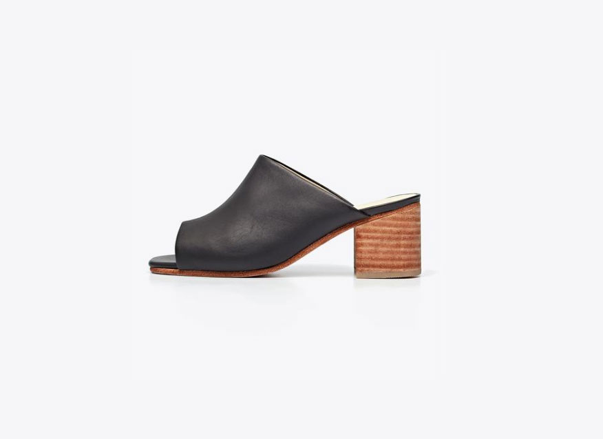 chunky block heel sandals from Nisolo