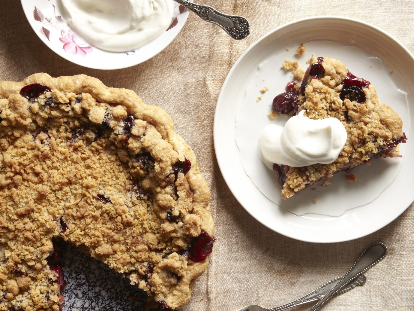 Spead of pies from Four & Twenty Blackbirds