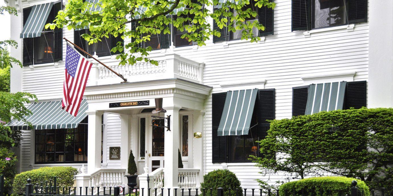 Exterior of The Charlotte Inn