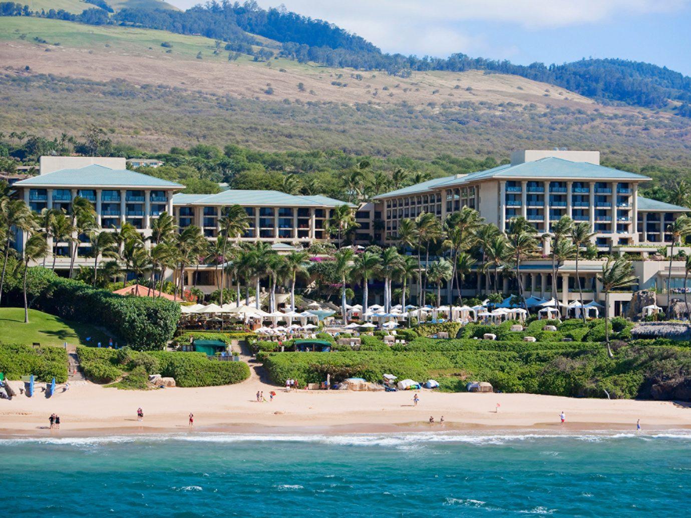 Exterior of Four Seasons Maui