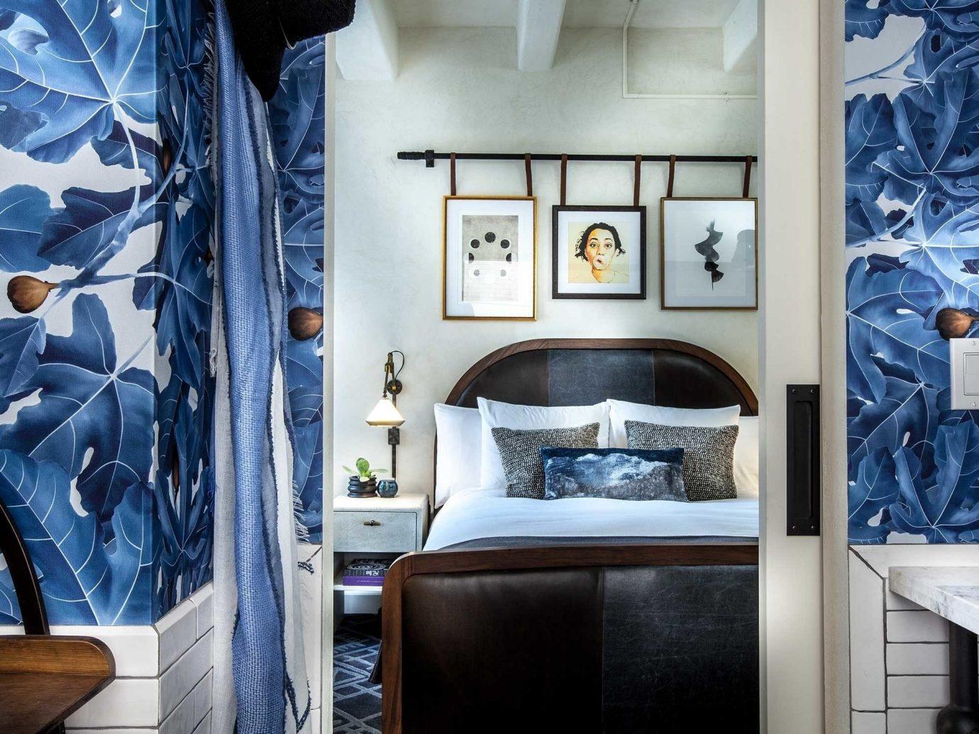 Bedroom at Hotel Figueroa