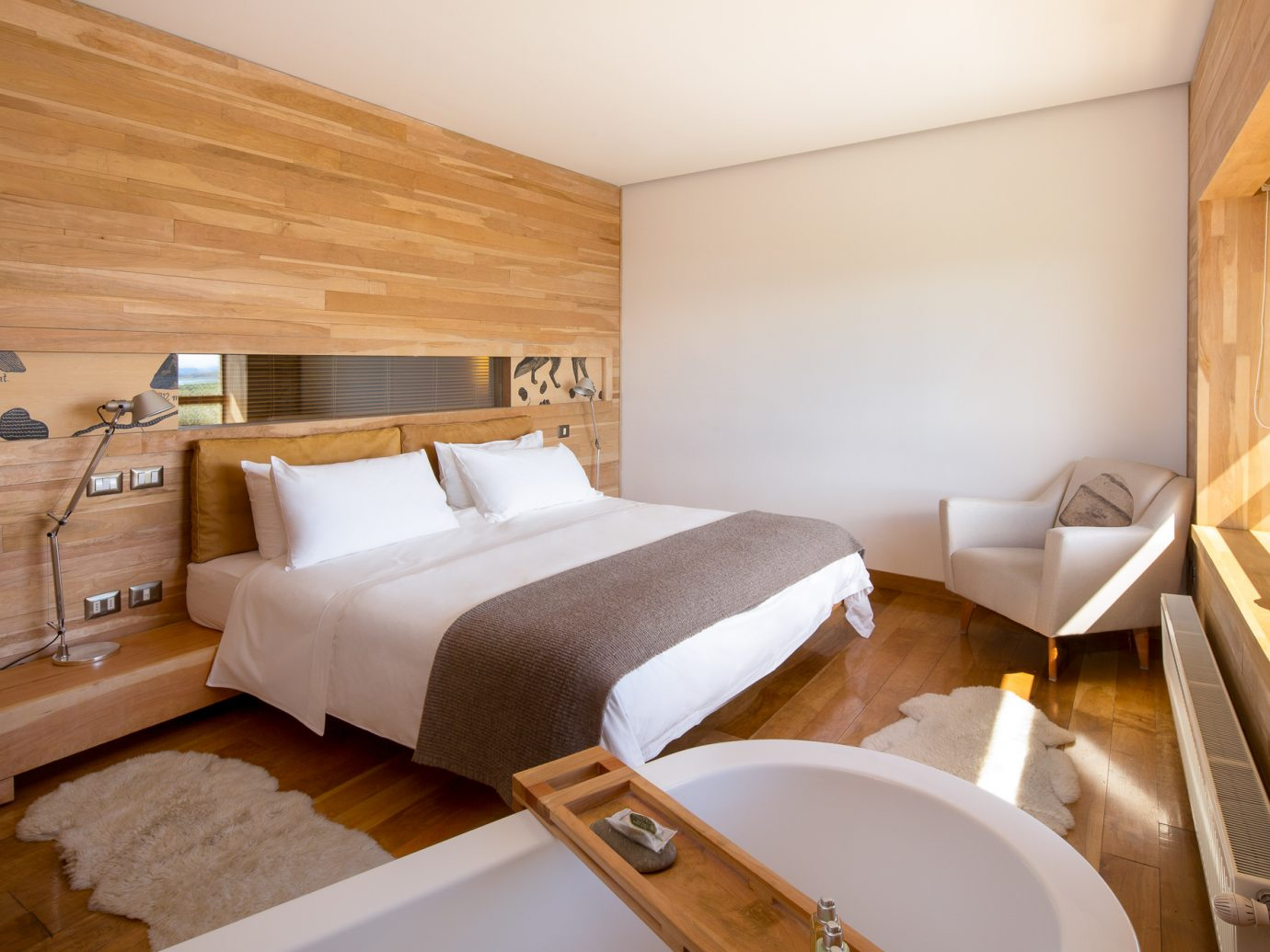 Bedroom at Tierra Patagonia Hotel And Spa