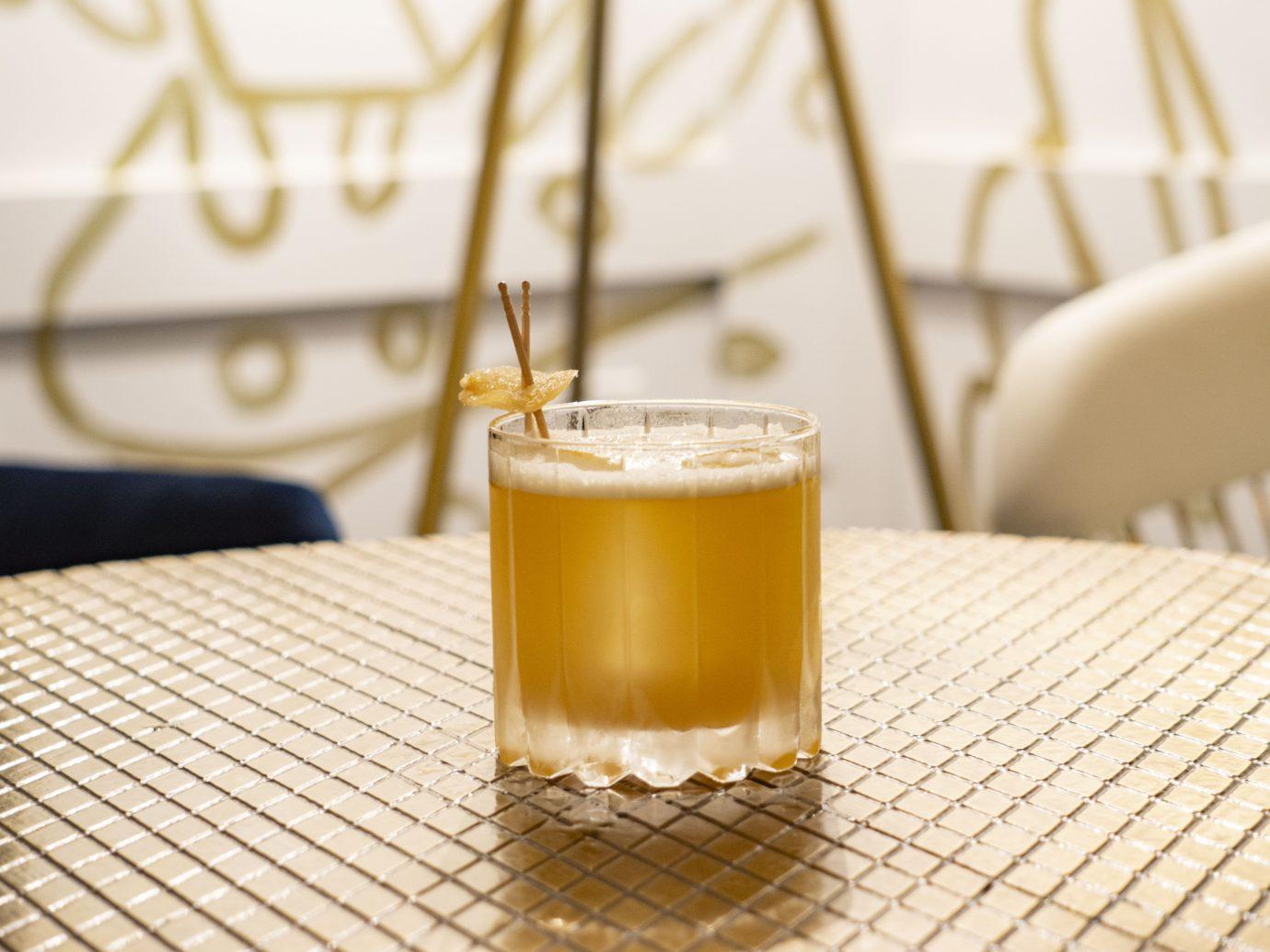 Penicillin cocktail from Ad Lib in Miami