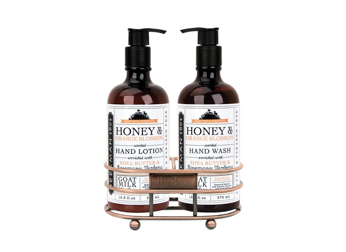 Honey & Orange Blossom Hand Care Duo Caddy Set