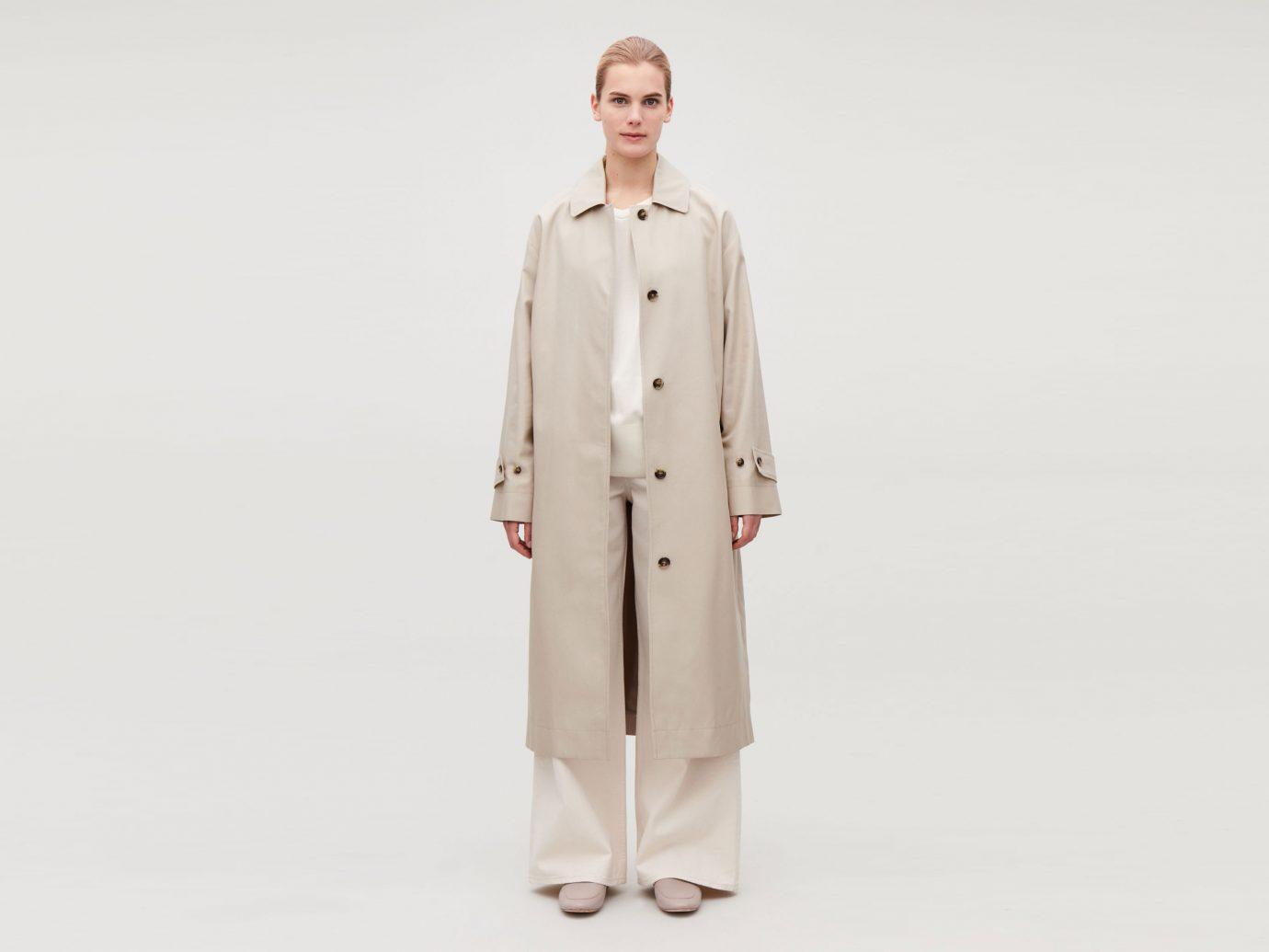 COS Organic Cotton Trench Coat