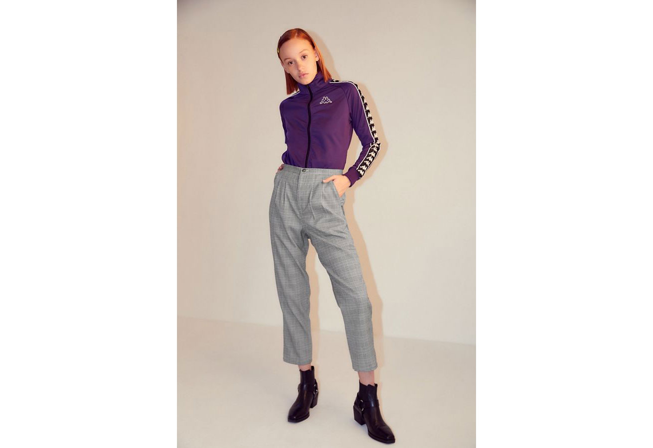 Urban Outfitters Urban Renewal collection plaid trousers