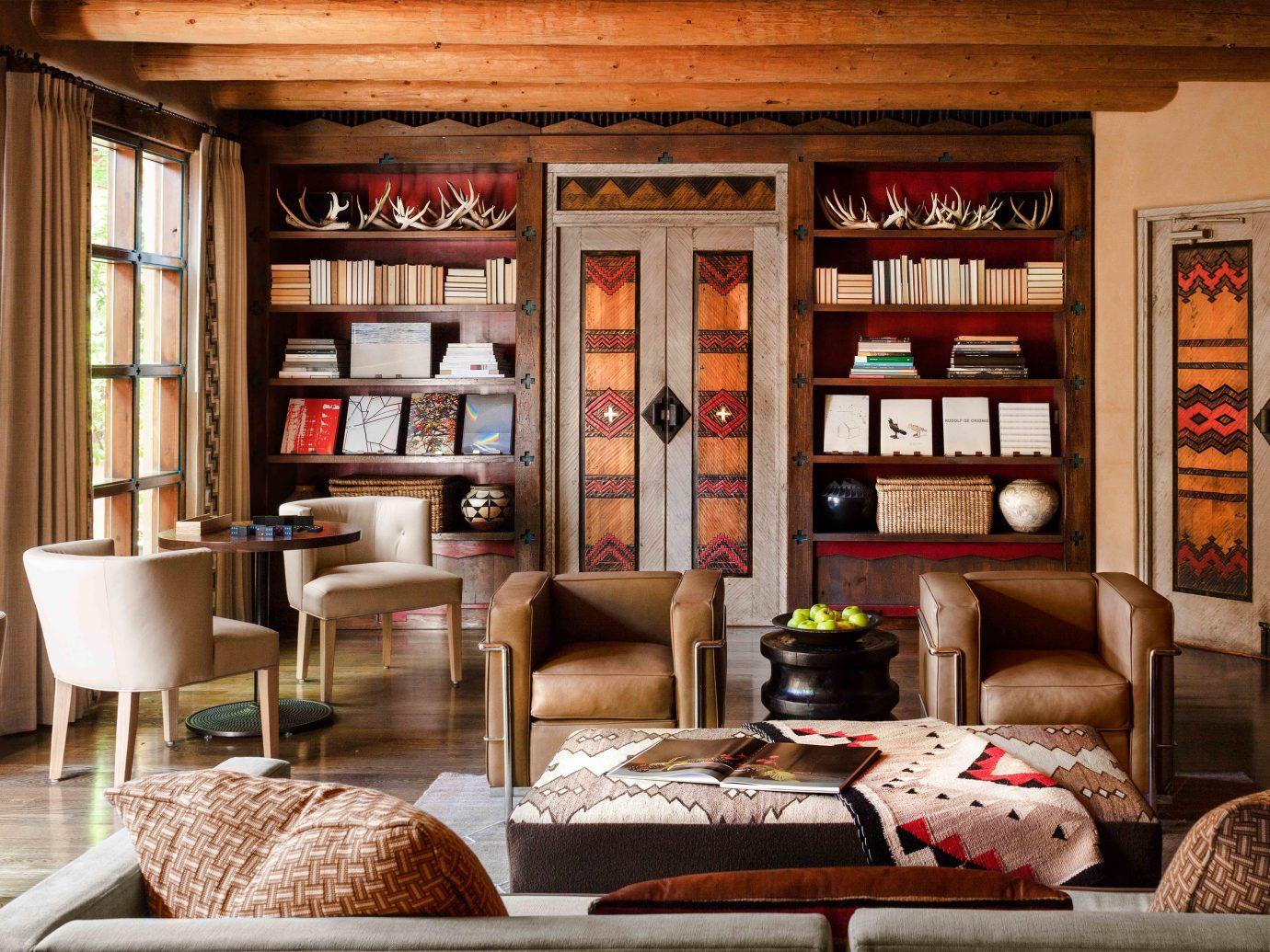 Lounge at Rosewood Inn of the Anasazi