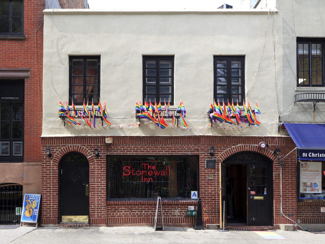 Facade of the Stonewall Inn