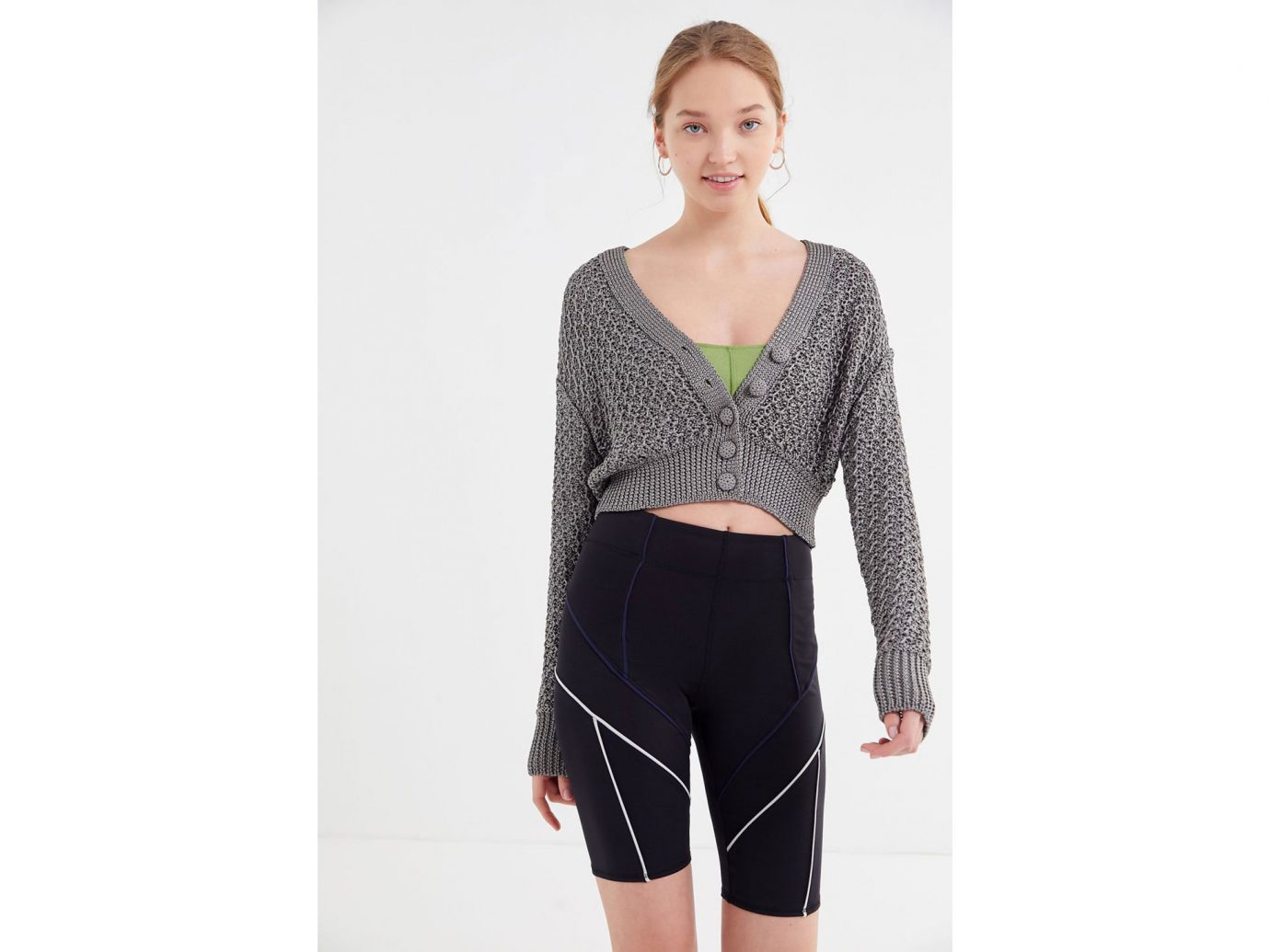 Urban Outfitters Mimi Seamed Bike Short