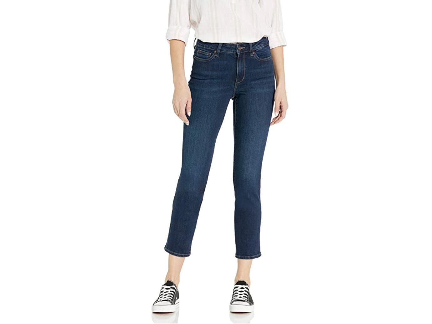 Amazon Brand - Goodthreads Women's High-Rise Slim Straight Jean