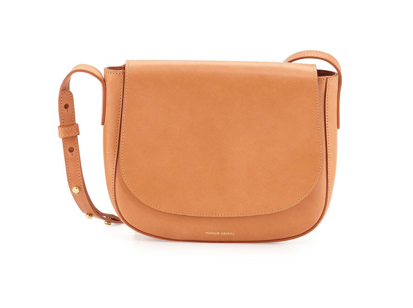 Mansur Gavriel Vegetable-Tanned Leather Crossbody Bag