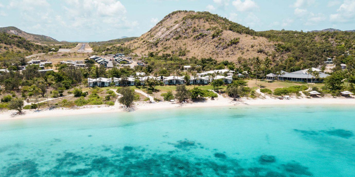 Aerial view at Lizard Island, Australia
