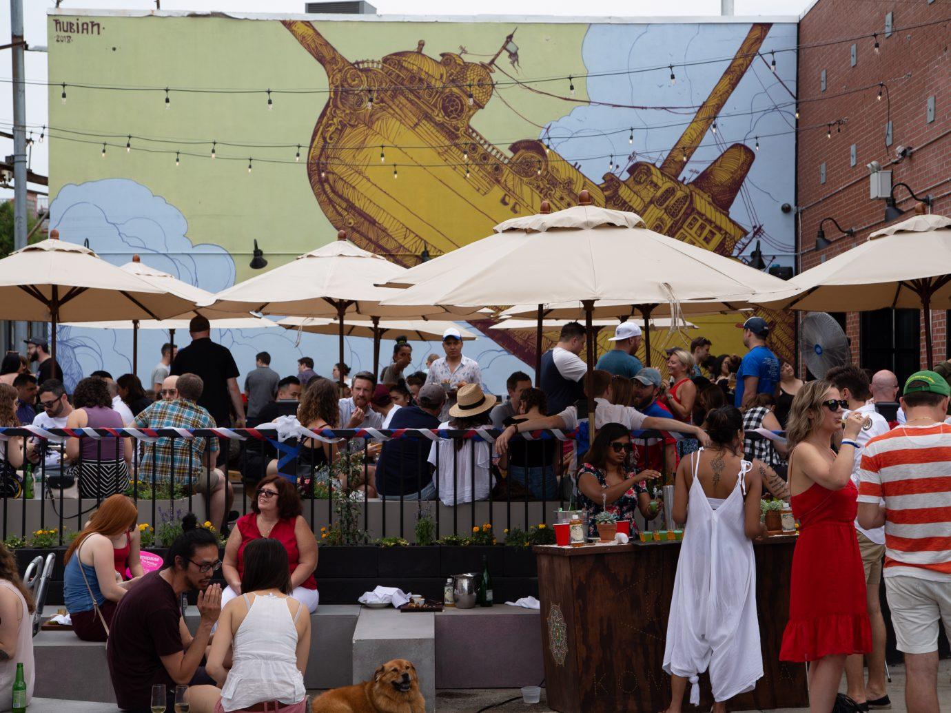 Brooklyn Cider House Deck