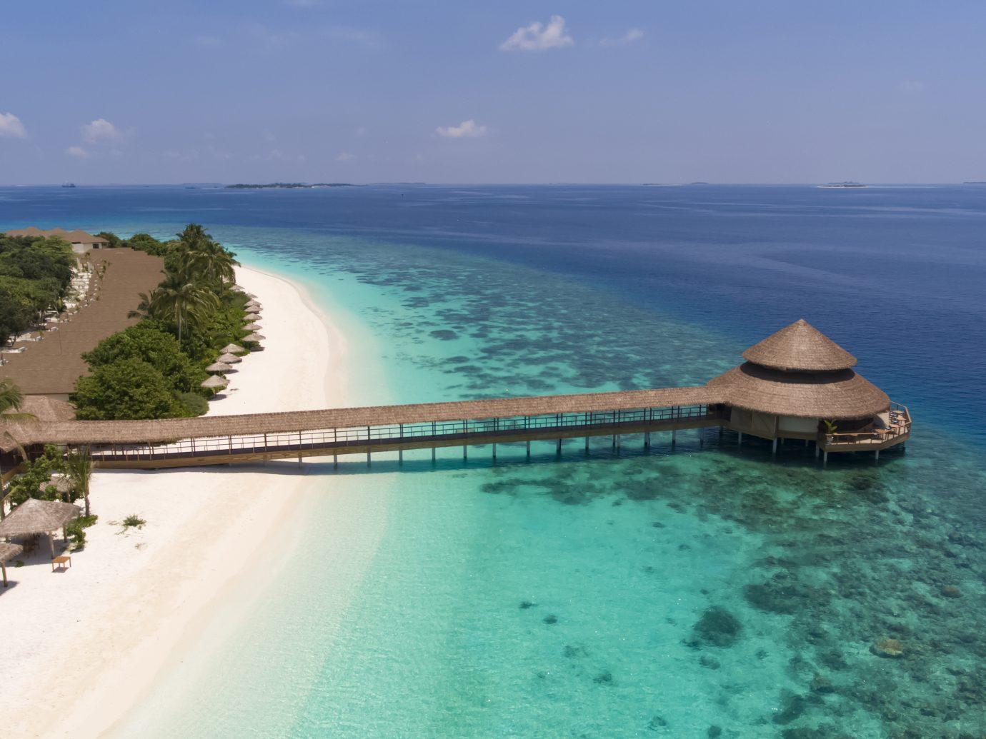 Over water bungalow at Reethi Faru Resort, Raa Atoll, Maldives