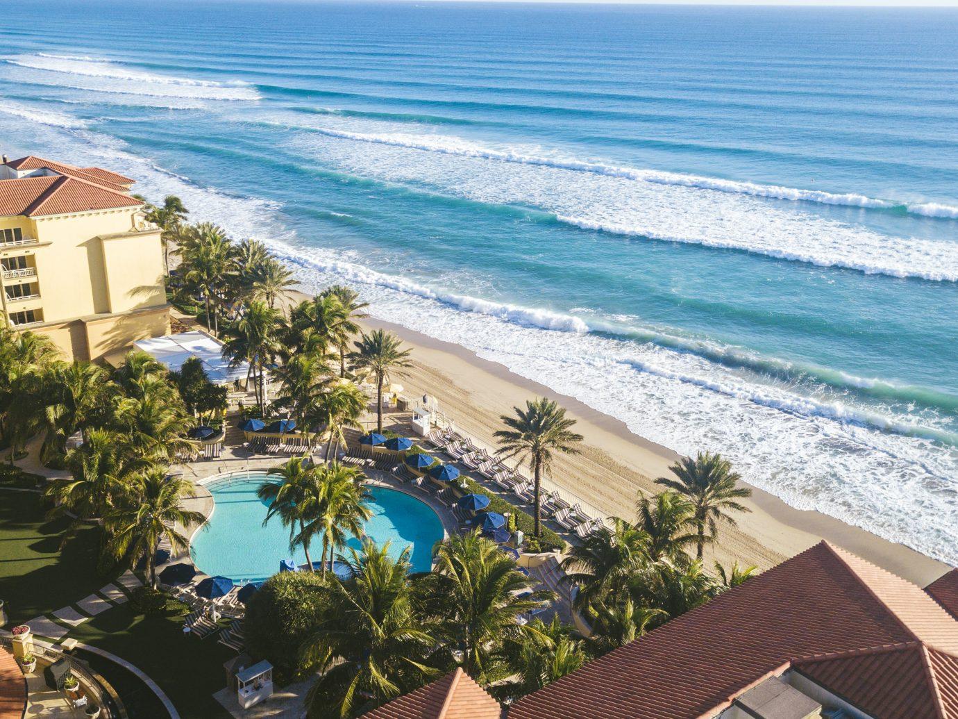 Aerial of Eau Palm Beach Resort & Spa, Manalapan, FL
