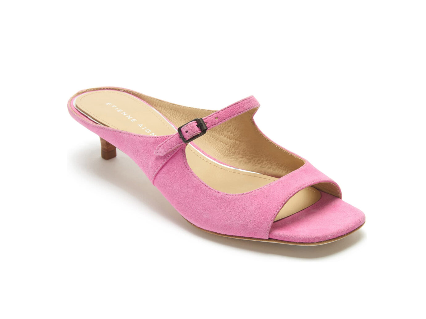 Etienne Aigner Verity Mary Jane Slip-On Sandal (Pink)