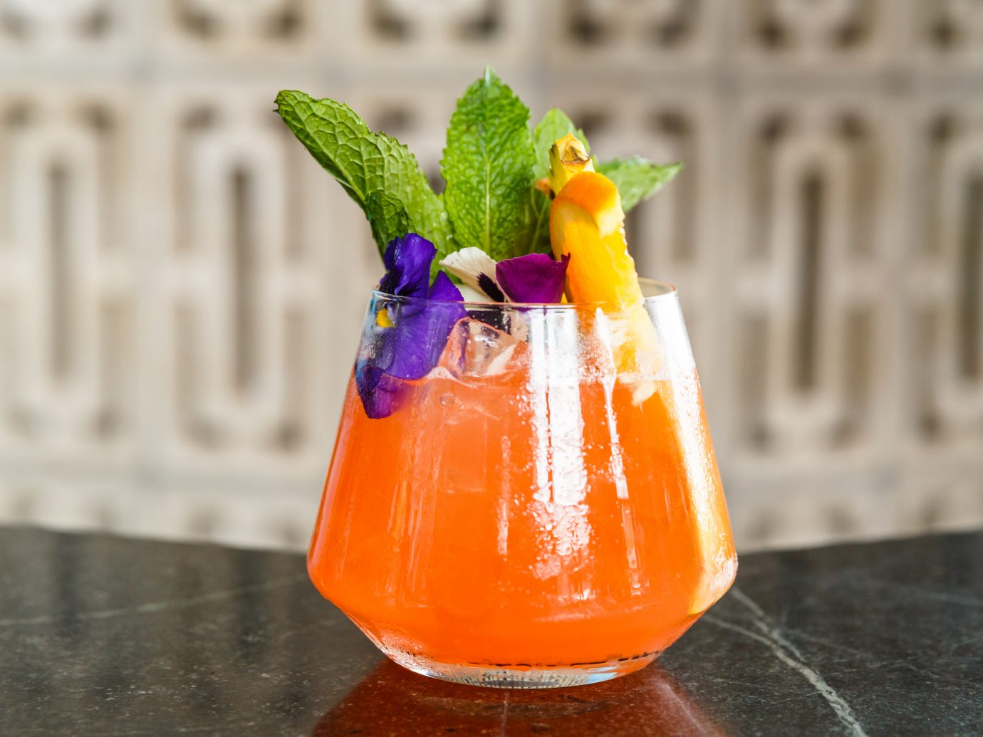 Cocktail from Gemelli's in Bushwick
