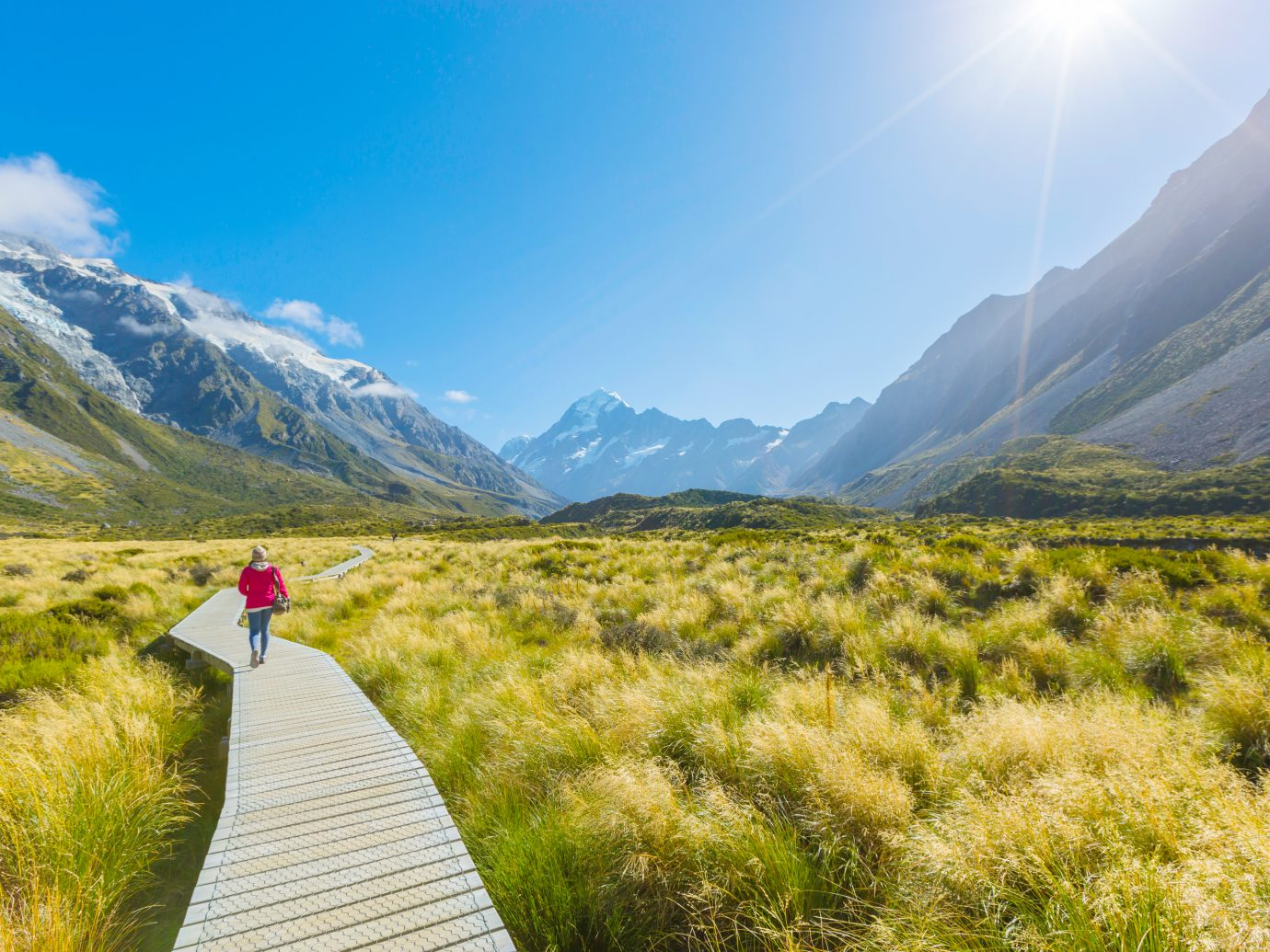 mount cook national park in south Island New Zealand