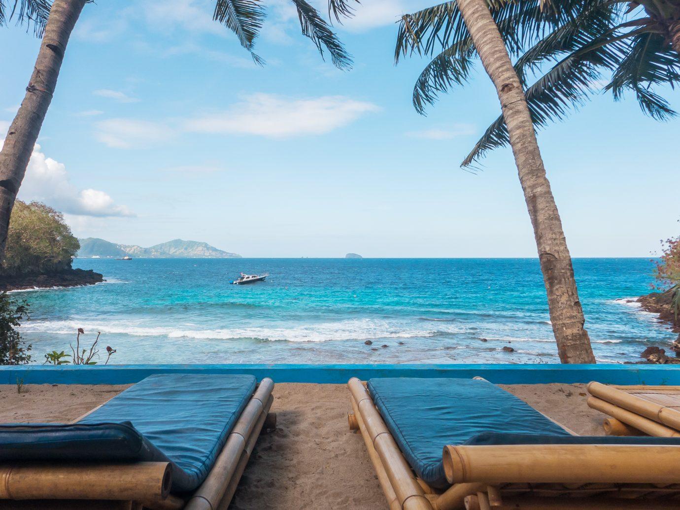 Secret beach at padang bay, Bali