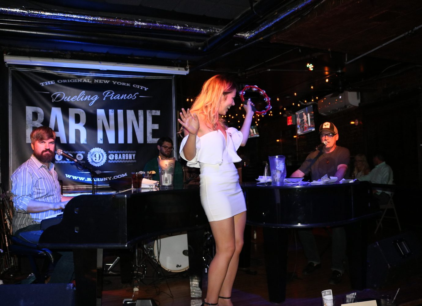 live music at Bar Nine in NYC