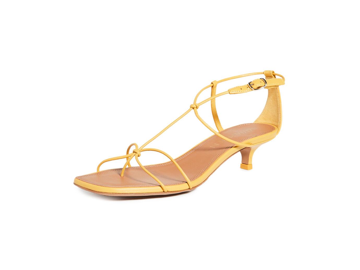 Zimmermann Strappy Kitten Heel Sandals