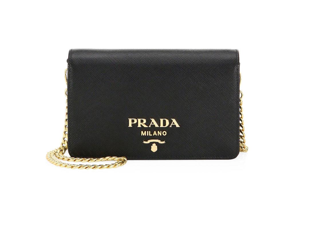 Prada Small Saffiano Leather Crossbody Bag