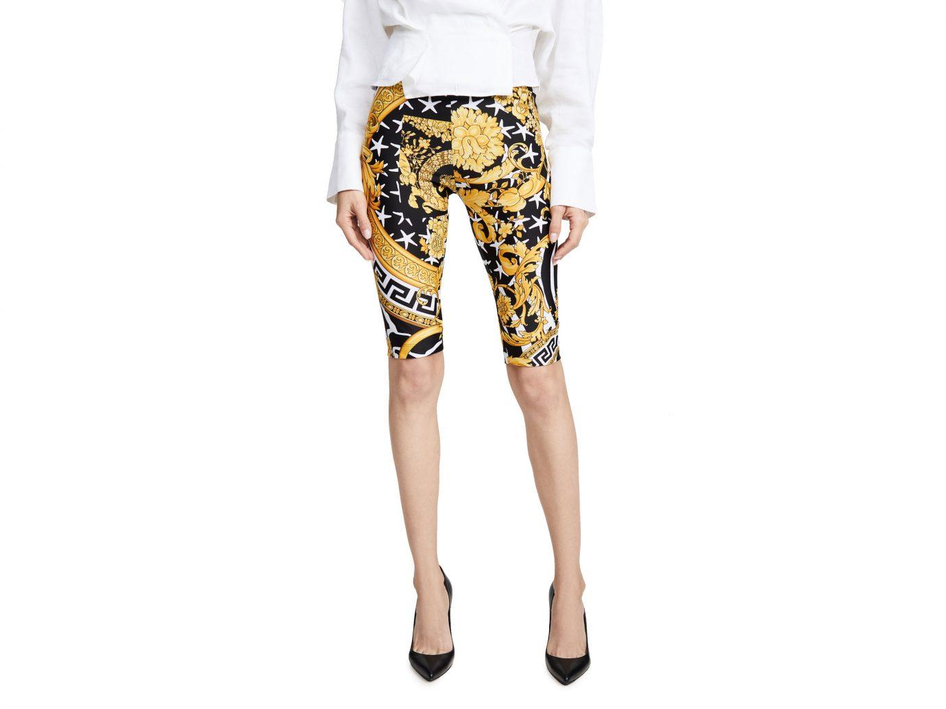 Versace Printed Bike Shorts