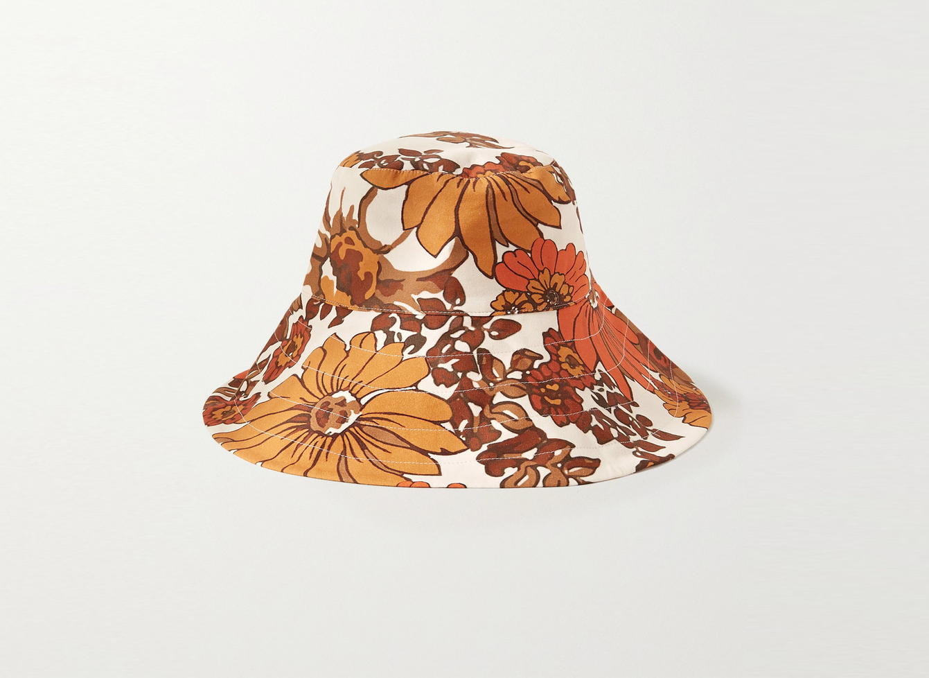 Dodo Bar Or Daria Floral-Print Bucket Hat