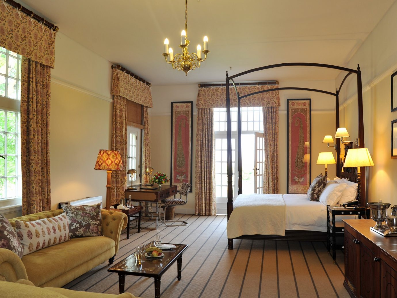 Bedroom at Victoria Falls Hotel, Zimbabwe