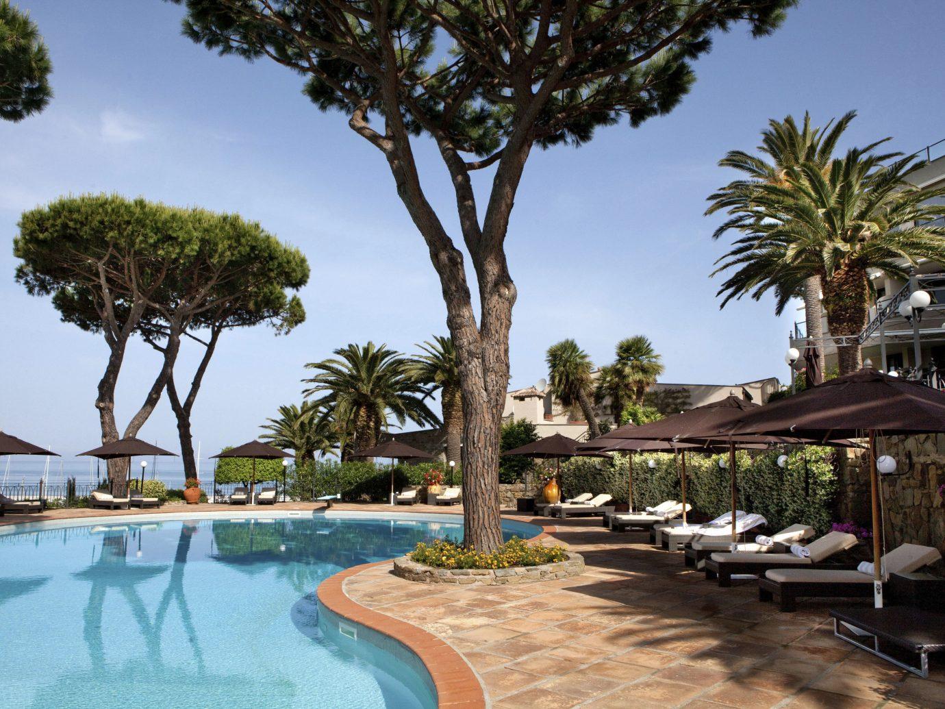 Pool at Baglioni Hotel Cala del Porto