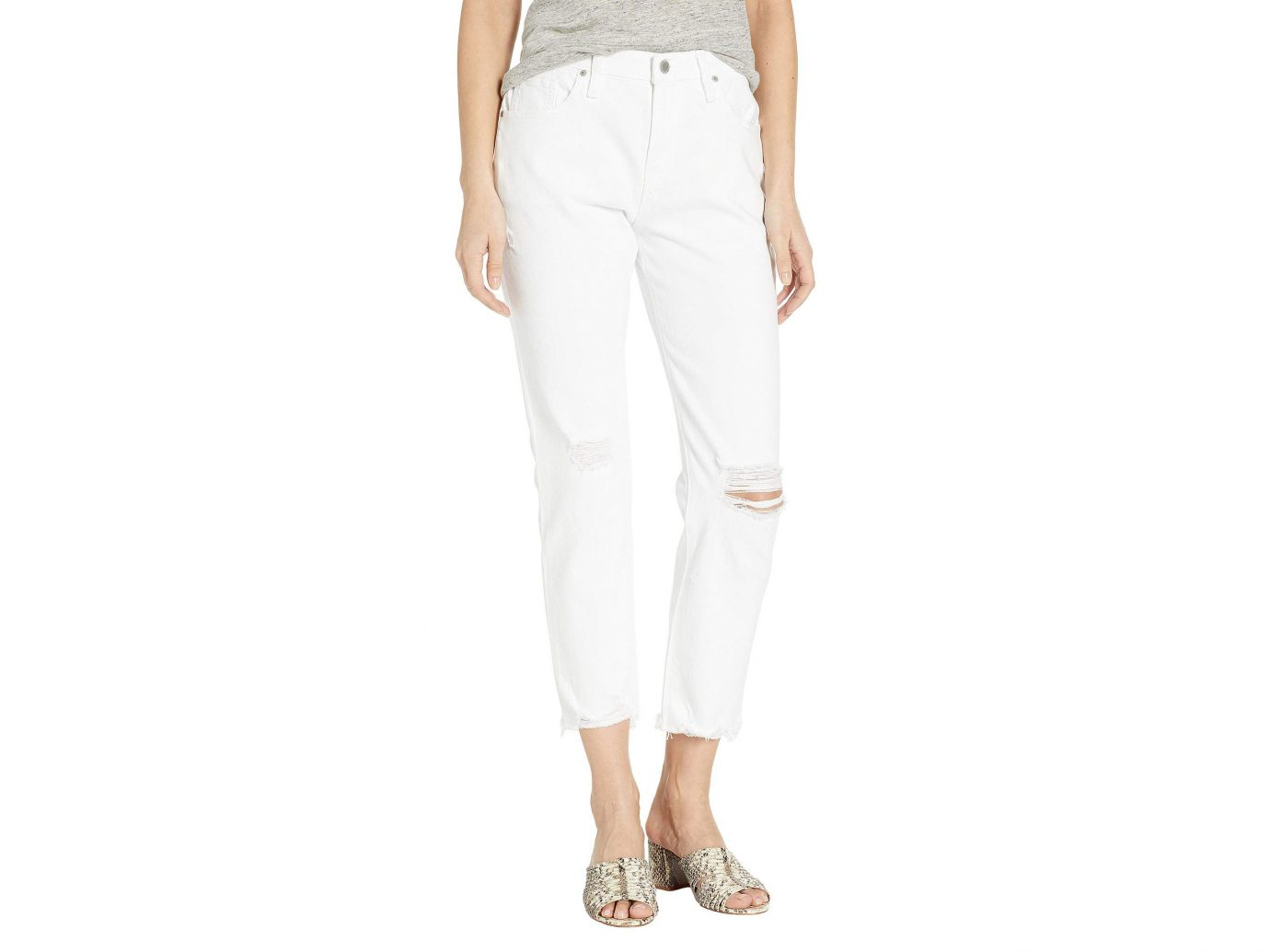 Hudson Jeans Jessi Relaxed Cropped Boyfriend Five-Pocket Jeans