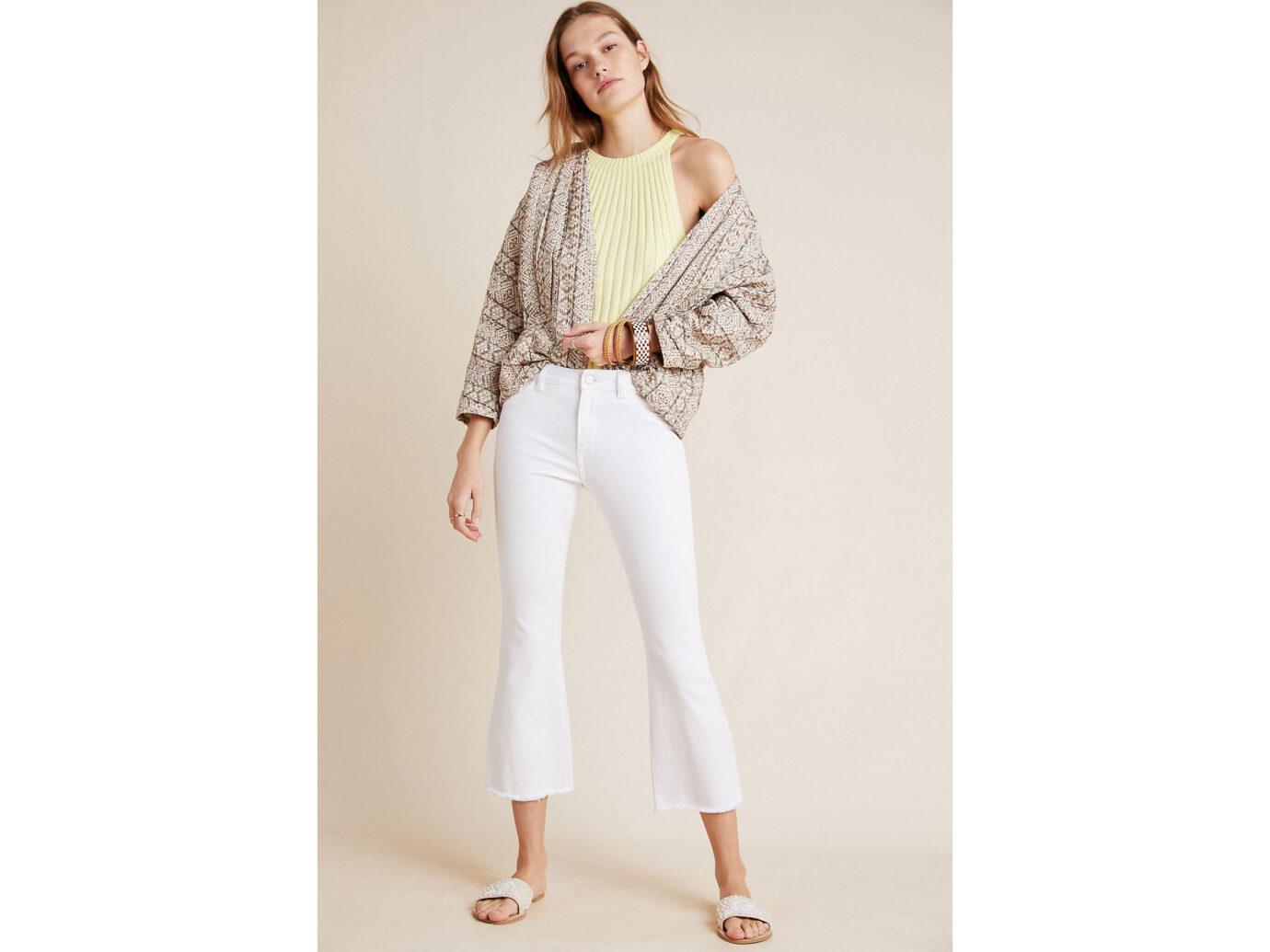 DL1961 Bridget Mid-Rise Cropped Bootcut Jeans