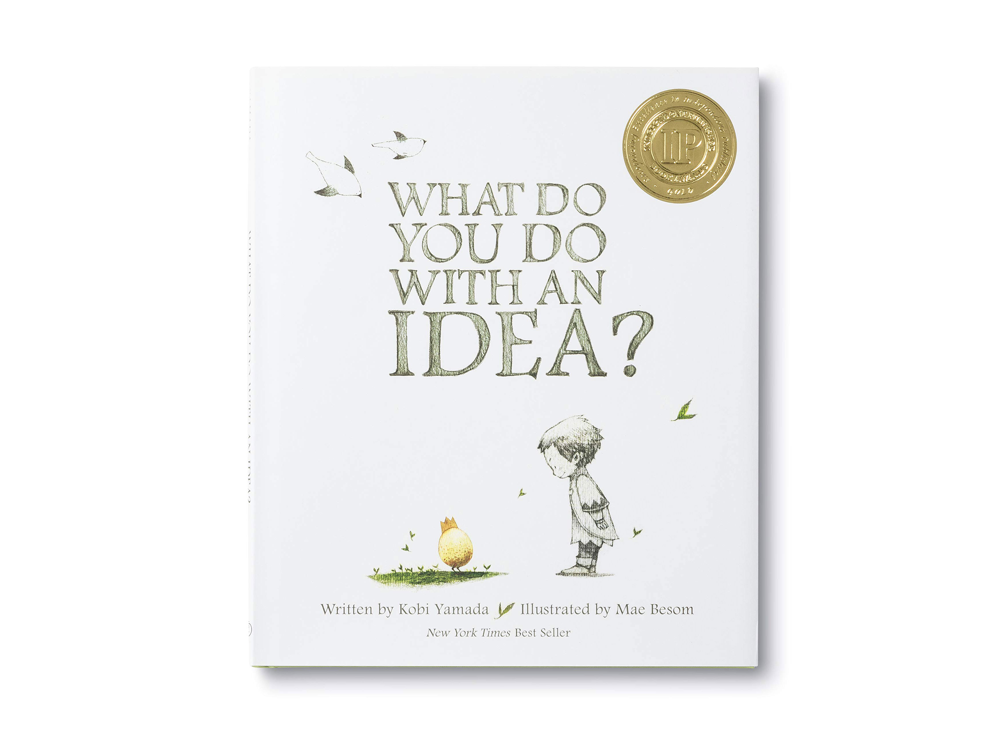 What Do You Do With an Idea? hardcover book