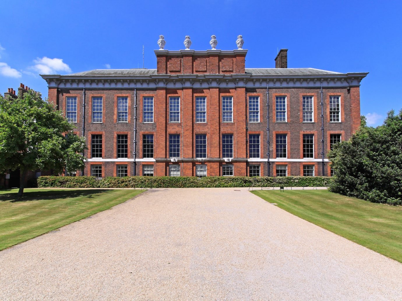 Kensington Palace official residence of Princess Diana in London