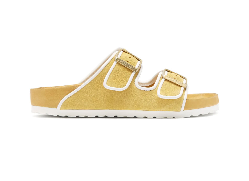Birkenstock x Il Dolce Far Niente Arizona suede sandals