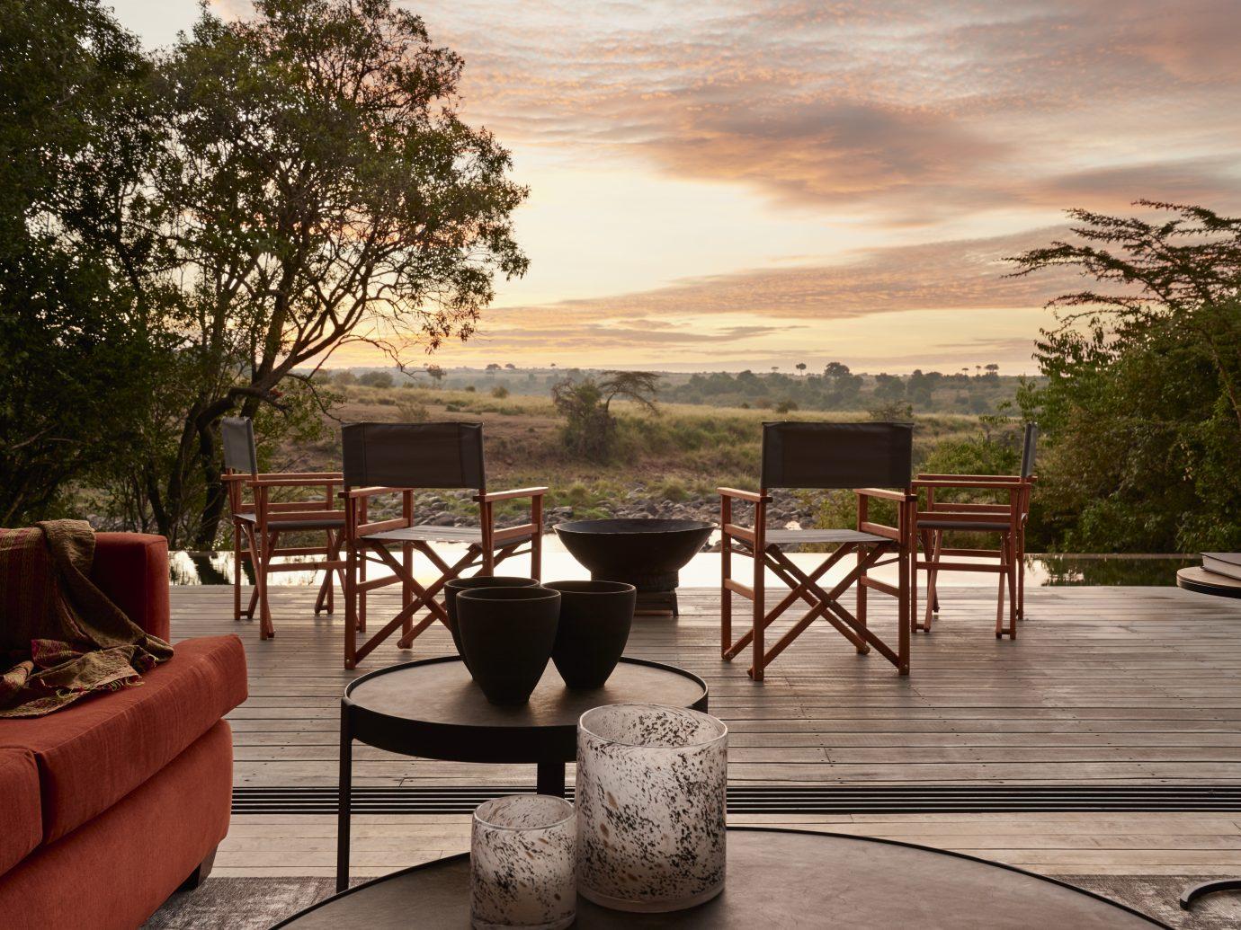 View from Kenya, Masai Mara, Sanctuary Olonana