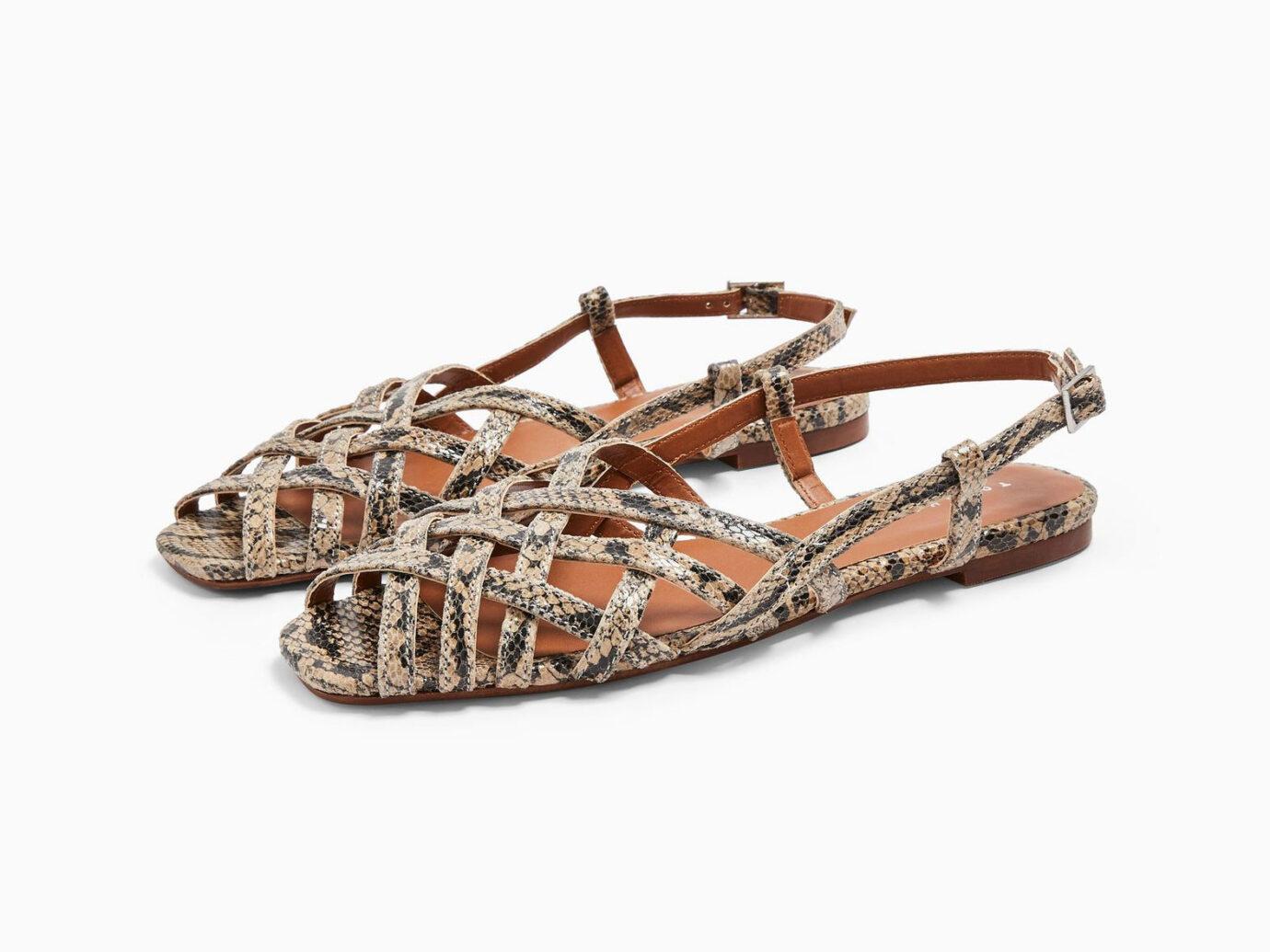 Topshop OLIVIA Strappy Slingback Sandals