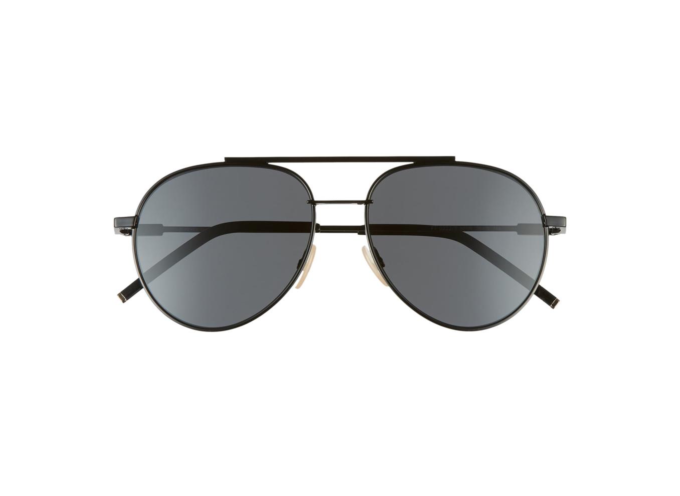 Fendi 56mm Aviator Sunglasses