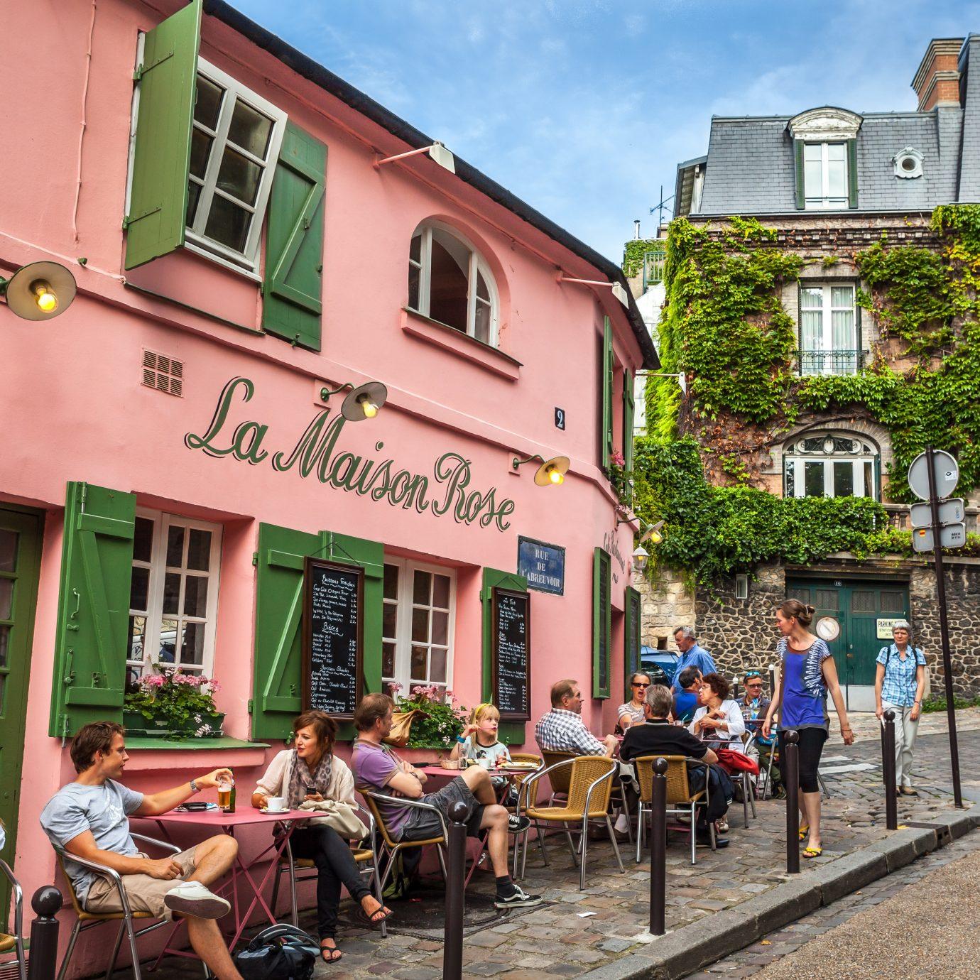 La Maison Rose in Paris