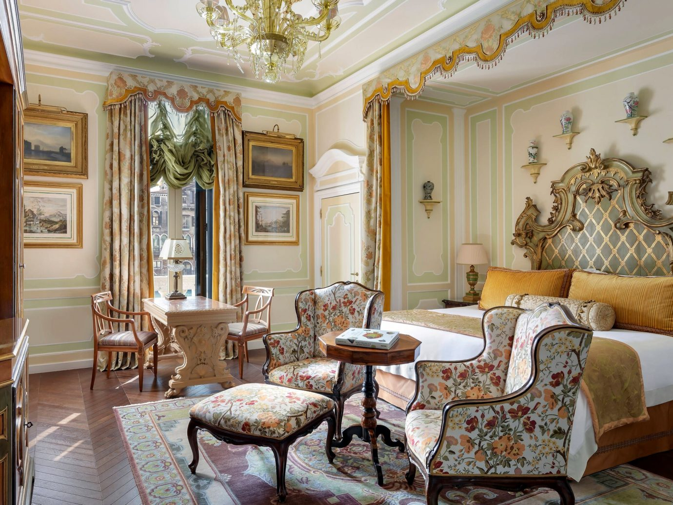 Presidential suite at Gritti Palace, Venice