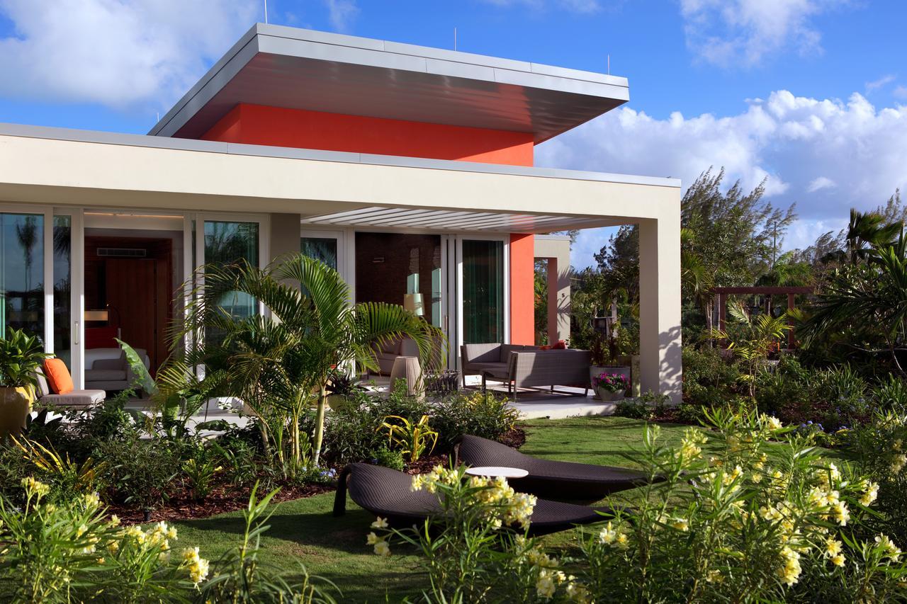 Exterior of a bungalow at Kimpton Seafire Hotel